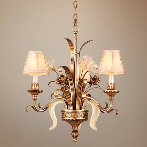 "Tivoli Collection 23"" Wide 3-Light Tradistional Chandelier"