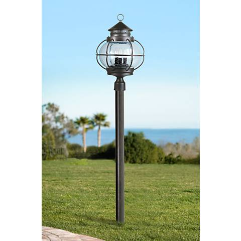 "Portsmouth 22"" High Outdoor Post Lantern"