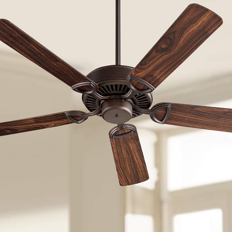 "52"" Estate Oiled Bronze Finish Ceiling Fan"