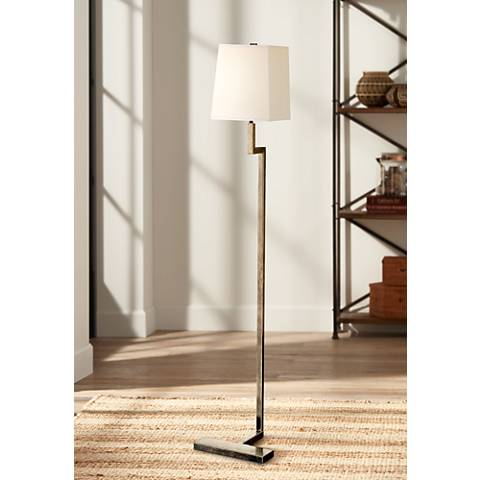 "Robert Abbey 48 3/4"" High Doughnut Bronze Floor Lamp"