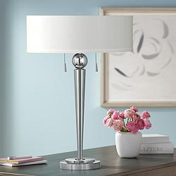 Messina Twin Pull Table Lamp