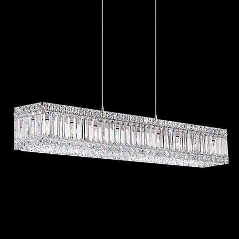 "Schonbek Quantum Collection 35 1/2"" Wide Crystal Pendant"