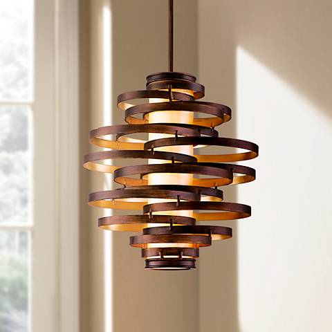 "Corbett Vertigo 23"" Wide Contemporary Pendant Light"
