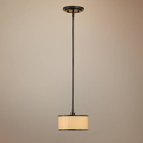 "Feiss Casual Luxury Collection 8"" Wide Mini Pendant Light"