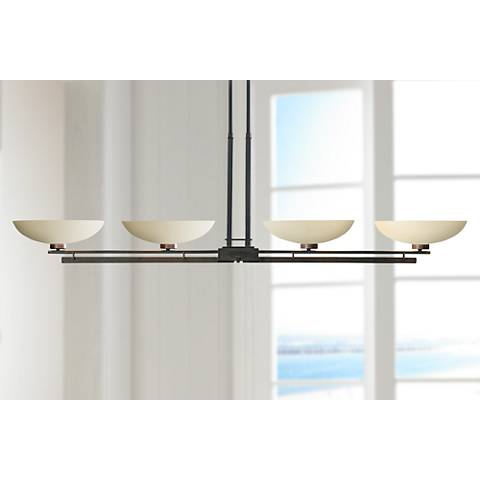 Hubbardton Forge Trestle 4-Light Pendant Chandelier