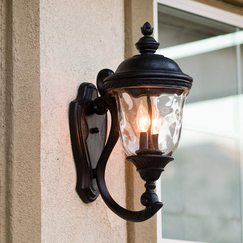Carriage House 20 High Upbridge Arm Outdoor Wall Light