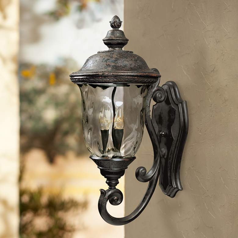 Carriage House Collection 26 1 2 High Outdoor Wall Light