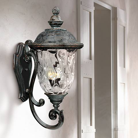 "Carriage House Collection 31"" High Outdoor Wall Light"