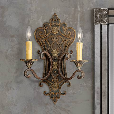 "Savoy House Sotherby 19"" High Wall Sconce"