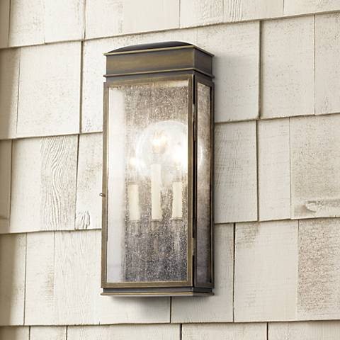"Feiss Whitaker 22 1/2"" High Outdoor Wall Light"