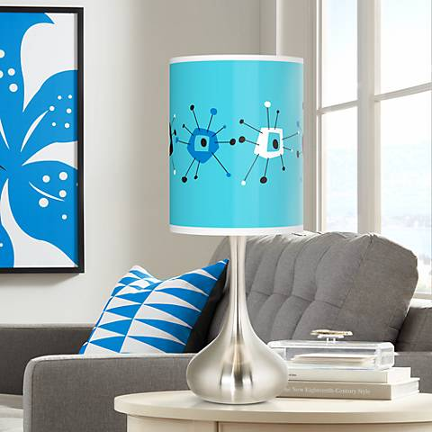 Sputnickle Giclee Droplet Table Lamp