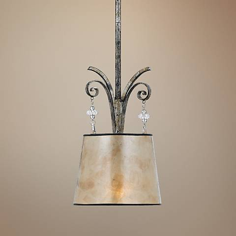 Kendra Rod Hung Mini Pendant Chandelier