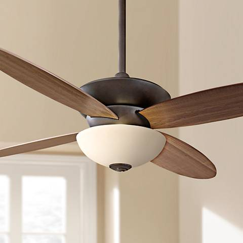 "52"" Minka Aire Zen Oil Rubbed Bronze ENERGY STAR Ceiling Fan"