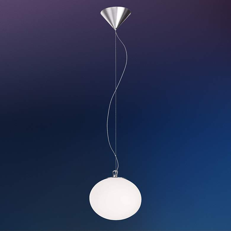Leucos Sphera S20 Satin Glass Pendant Light