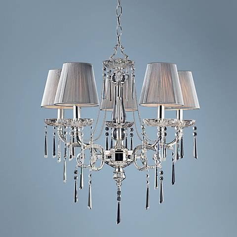 "Princess Collection 23"" Wide 5-Light Chandelier"