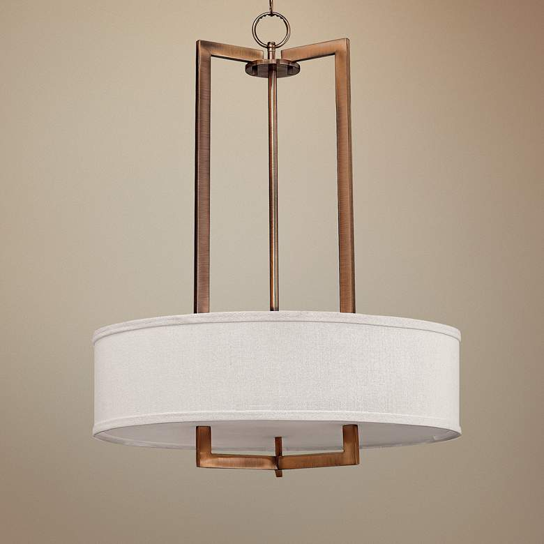 "Hinkley Hampton Collection 26"" Wide Pendant Light"