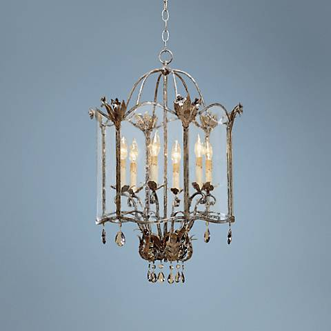 Currey and Company Zara Large Foyer Pendant Chandelier