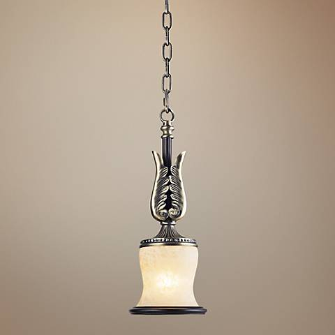 "Georgian Court Collection 6"" Wide Mini Pendant Light"
