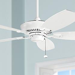 "52"" Canfield Kichler White Ceiling Fan"