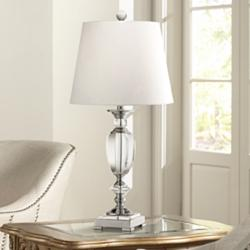 Vienna Full Spectrum Beveled Crystal Urn Table Lamp