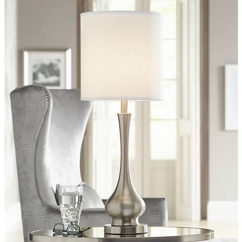 Possini euro design 32 high tall gourd table lamp