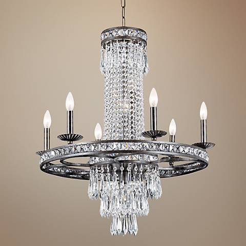 light leaf strand on regency chandelier hill deals wide silver shop