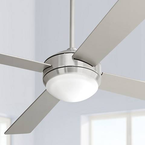 52 courier brushed nickel ceiling fan m2564 lamps plus 52 courier brushed nickel ceiling fan mozeypictures Image collections