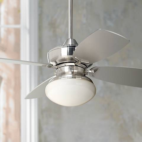 36 casa vieja outlook brushed nickel ceiling fan m2746 lamps plus 36 casa vieja outlook brushed nickel ceiling fan aloadofball Image collections