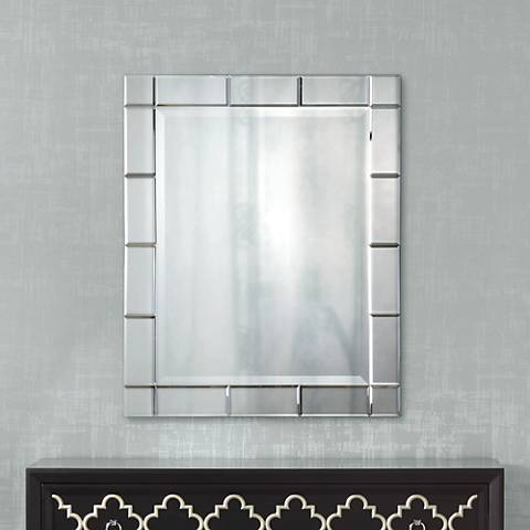 "Uttermost Makura 33"" High Wall Mirror"