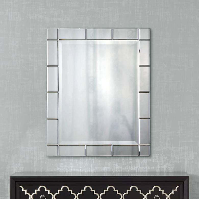 "Uttermost Makura 27"" x 33"" Wall Mirror"