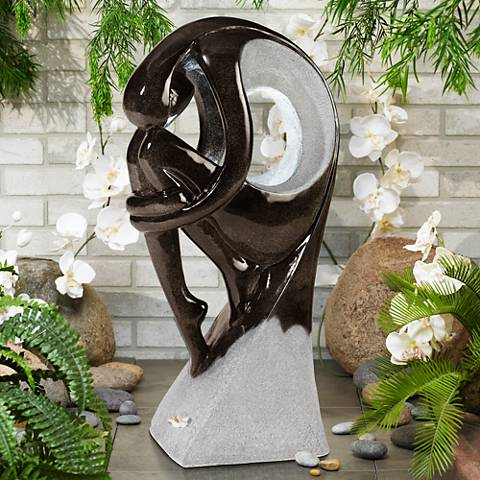 "Graceful Form Indoor or Outdoor 43"" High Fountain"