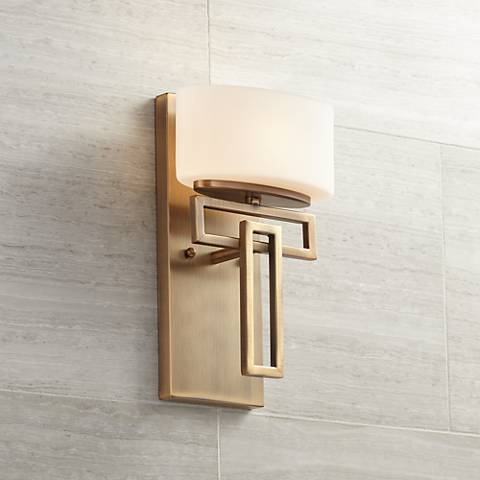"Hinkley Lanza 12"" High Brushed Bronze Wall Sconce"