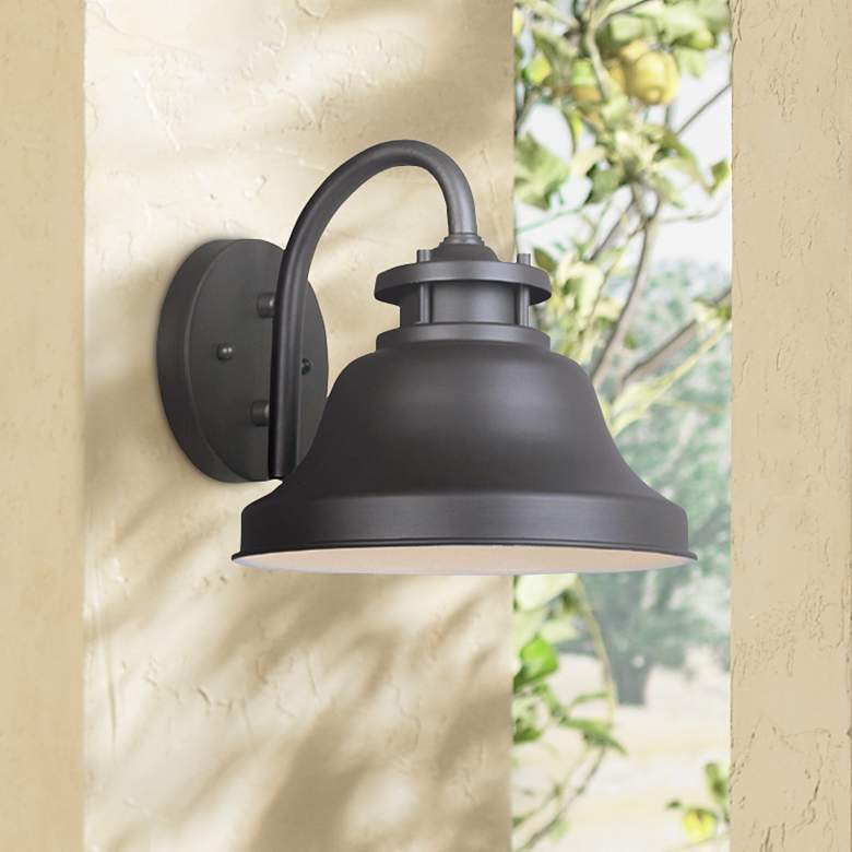 Bayport Collection Dark Sky 8 1 2 High Outdoor Wall Light