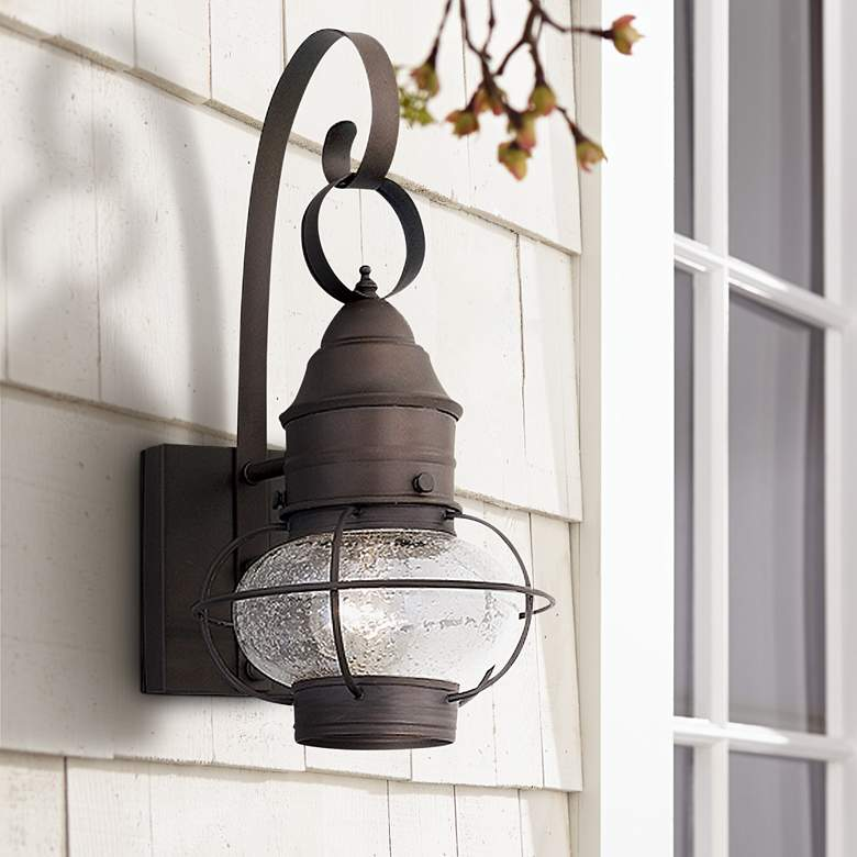 "Nantucket Collection 14 1/2"" High Outdoor Wall Light"