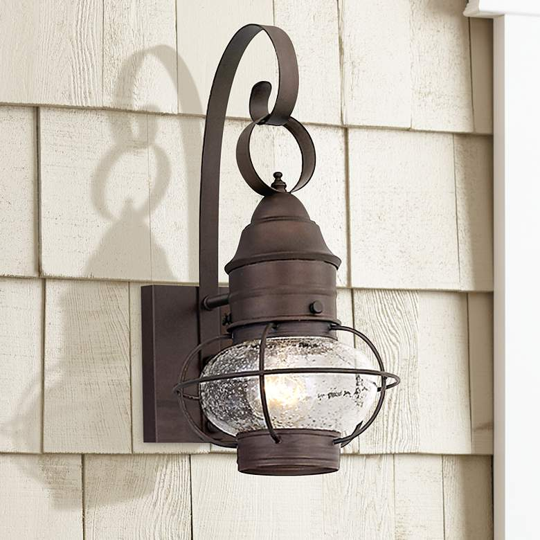 Nantucket Collection 17 1 2 High Outdoor Wall Light