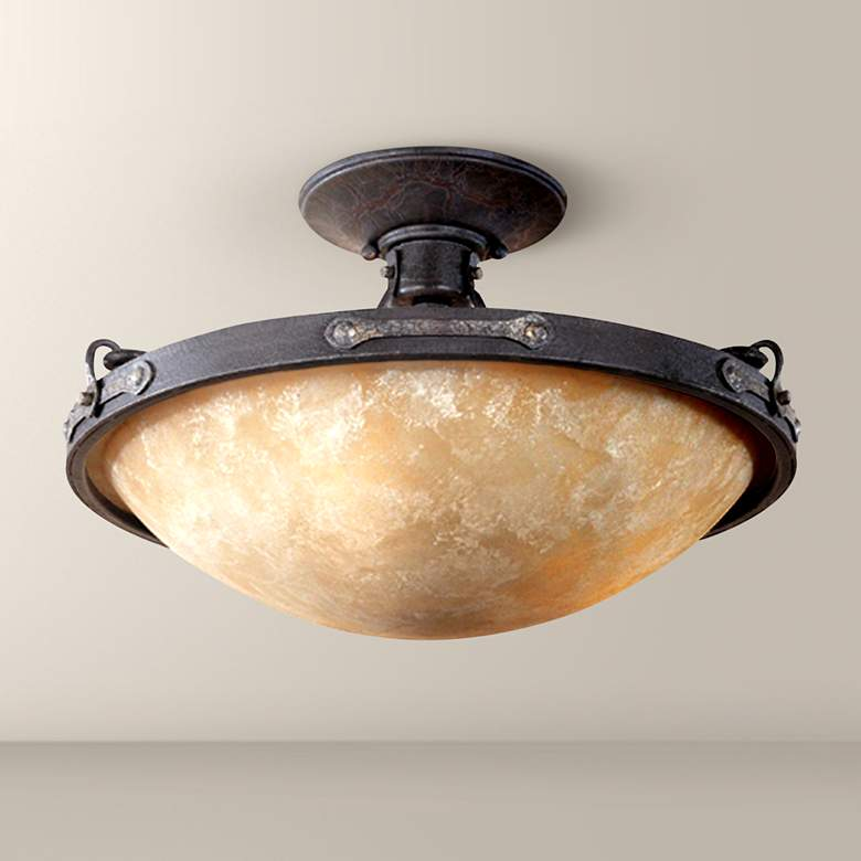"Austin Collection 16 1/4"" Wide Ceiling Light Fixture"