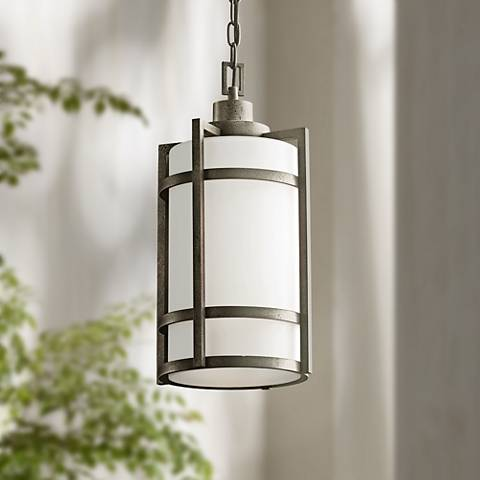 "Kichler Camden 19"" High Outdoor Hanging Light"