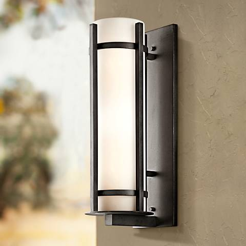 "Kichler Camden 22 1/2"" High Outdoor Wall Light"
