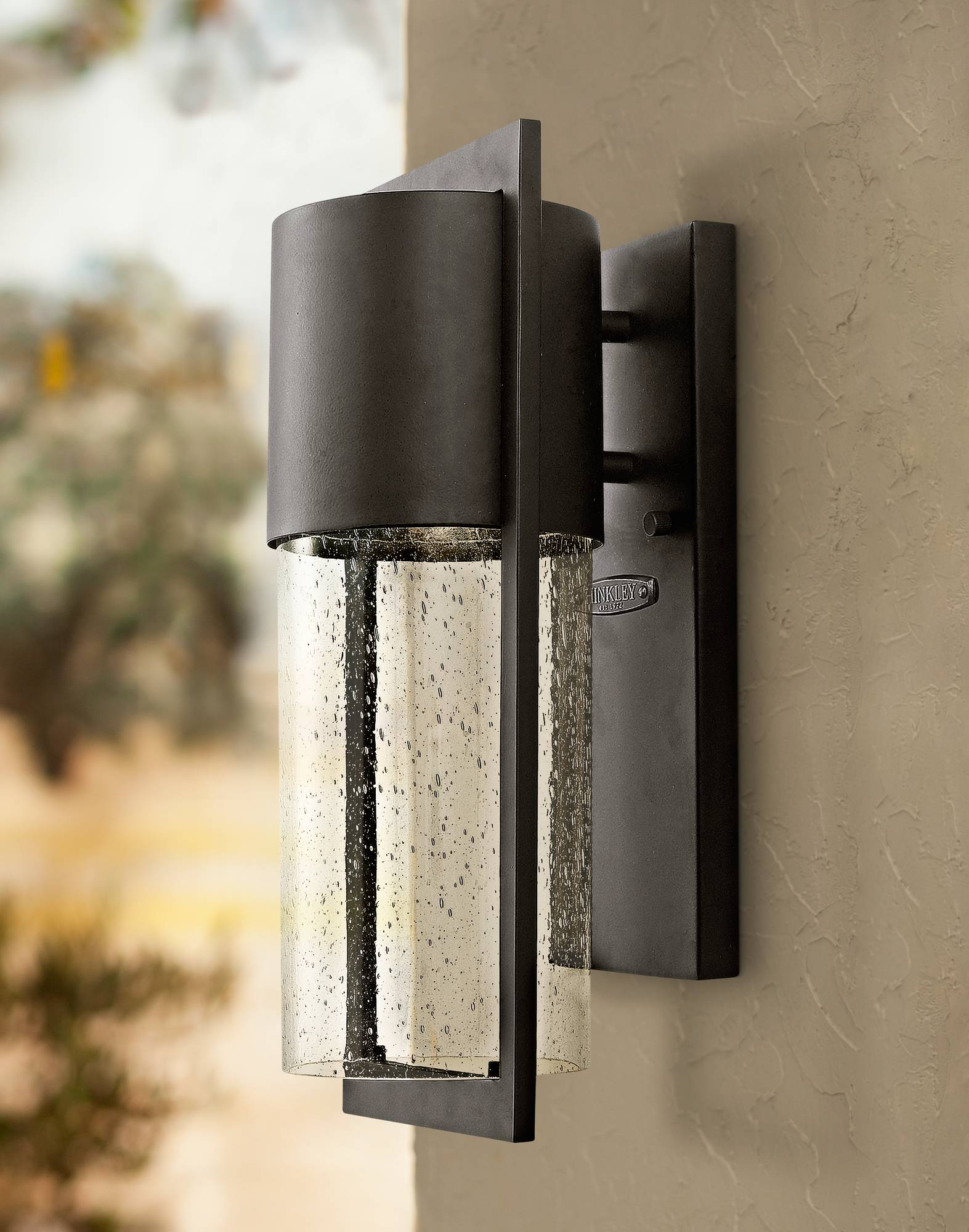 Hinkley shelter 15 1 2 high indoor outdoor wall light