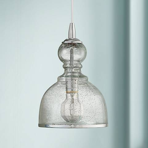 Jamie Young St Charles Clear Glass Pendant Chandelier