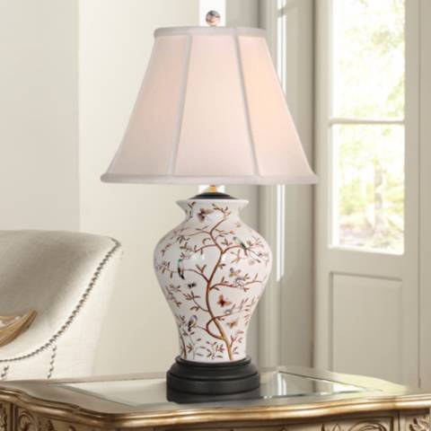 Birds In A Tree Porcelain Table Lamp N2017 Lamps Plus