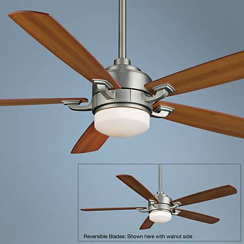 "52"" Fanimation Benito Satin Nickel Ceiling Fan"
