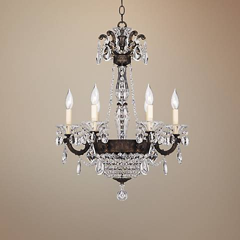 Schonbek la scala heirloom bronze 21 w crystal chandelier n5760 schonbek la scala heirloom bronze 21 w crystal chandelier aloadofball Image collections