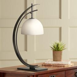 "Orbit 28"" High Black Accent Table Lamp by Kathy Ireland"