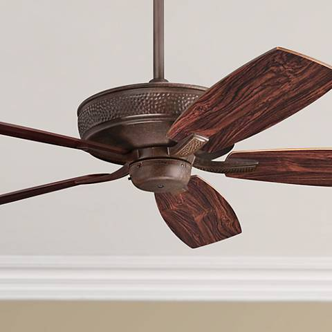 "52"" Monarch II Energy Star Tannery Bronze Ceiling Fan"