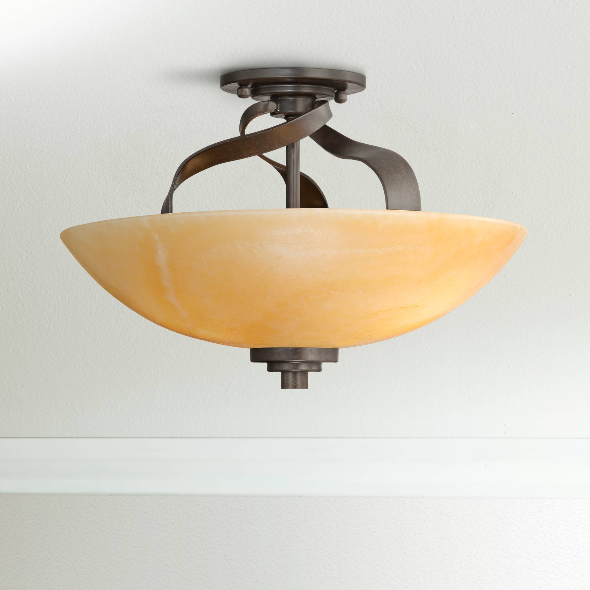 Quoizel kyle collection 16 wide ceiling light fixture
