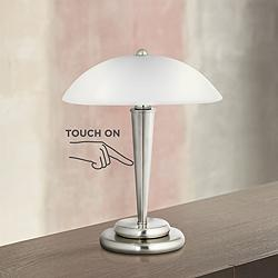 "Deco Dome 17"" High Touch On-Off Accent Lamp"
