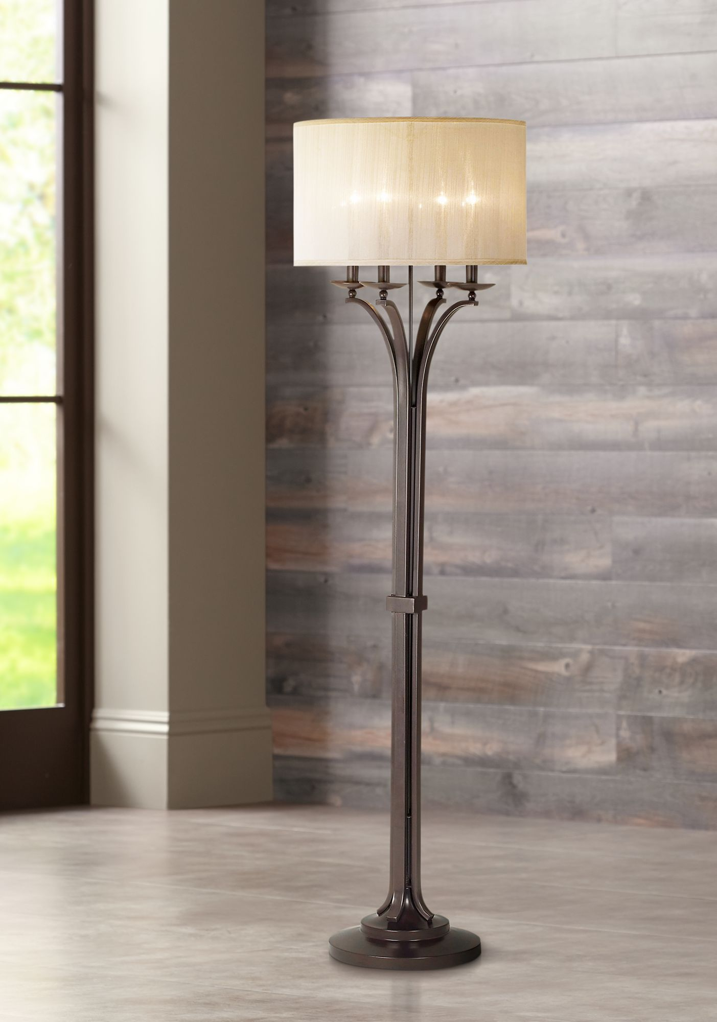 Kathy Ireland Pennsylvania Country Floor Lamp