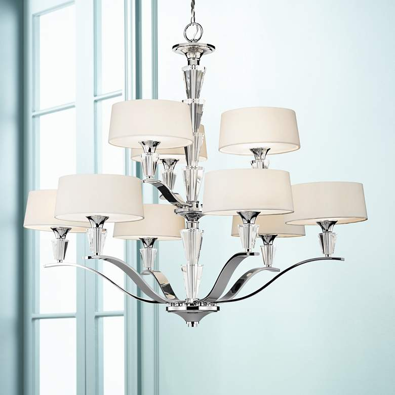 Crystal Persuasion 9-Light Chandelier