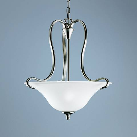 Kichler Wedgeport Collection Inverted Pendant Chandelier